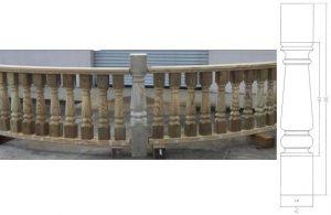 Corinthian Baluster