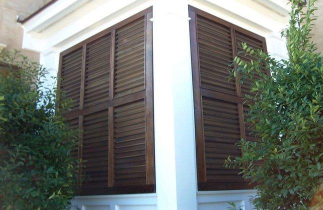Stain grade bermuda shutters 51 teklowe design for Bermuda style exterior shutters